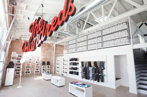 The Hundreds Santa Monica Opening Recap
