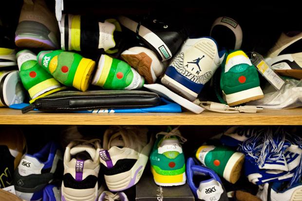 the hundreds sneaker freaker office visit