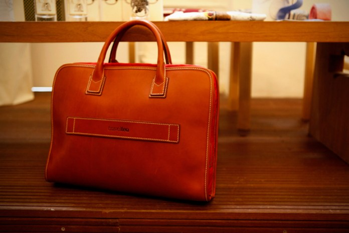 "Travelteq ""Trash Original"" Leather Laptop Bag"