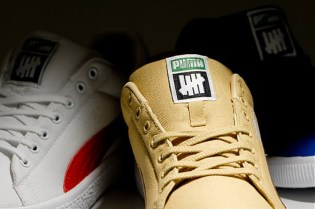 UNDFTD x PUMA Canvas Clyde Collection Preview