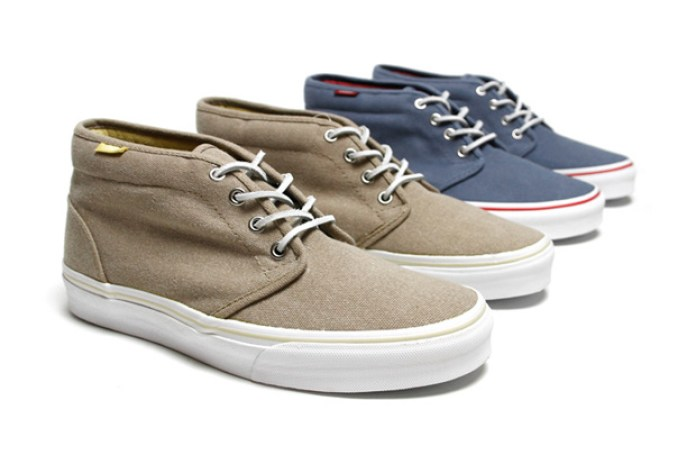 "Vans California ""Heavy Canvas"" Chukka Boot"