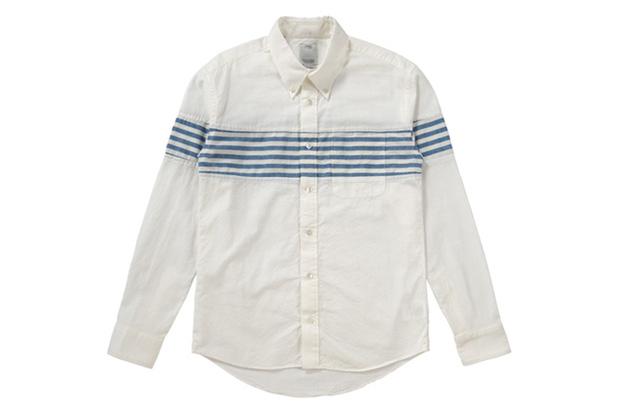 visvim Saga Stripe Long-Sleeve Shirts