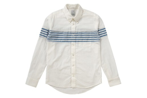 visvim Saga Stripe Long-Sleeve Shirts