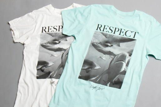"Wayne Levin x Warriors of Radness ""Respect"" T-Shirt"