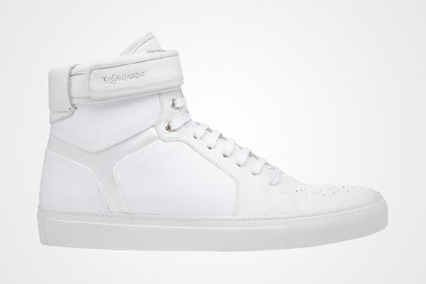 Yves Saint Laurent Ankle Strap Hi-Top