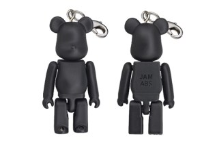 JAM HOME MADE x Medicom Toy Bearbrick 50% 11th Anniversary Keychain