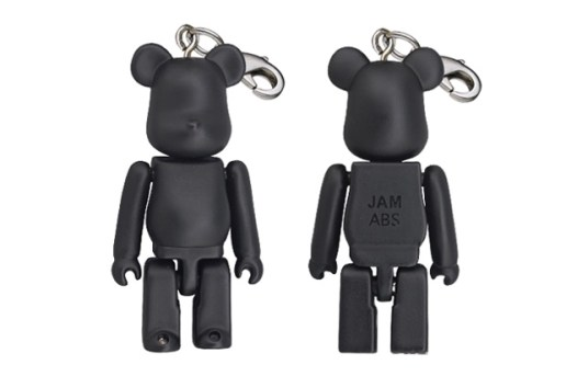 JAM HOME MADE x Medicom Toy Bearbrick 50% 11th Anniversary Keychain
