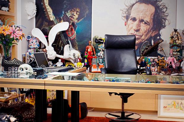 A Look Inside Mark Parker's Office