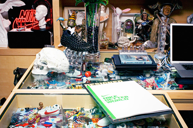 a look inside mark parkers office