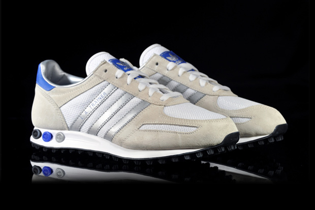 "adidas Originals LA Trainer ""Metallic Silver"""