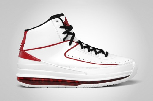 Air Jordan 2.0 White/Black-Varsity Red