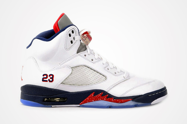 Air Jordan 5 Retro White/Obsidian