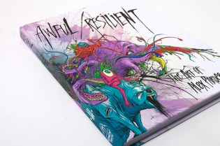 "Alex Pardee ""Awful/Resilient"" Book"