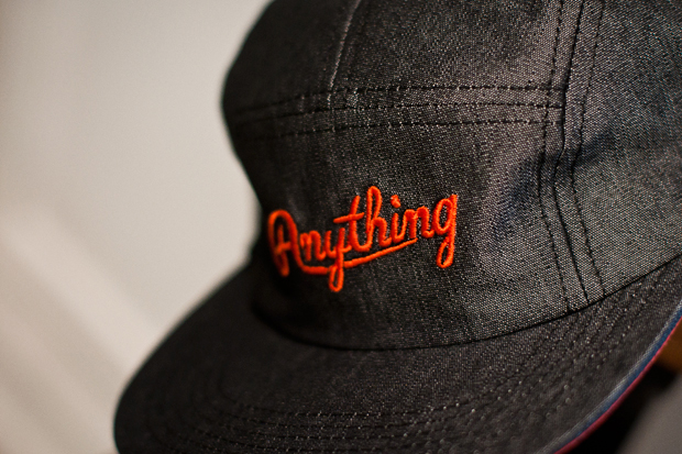 anything 2011 springsummer 5 panel cap