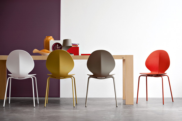 """""""Basil Chair"""" by Mr. Smith Studio for Calligaris"""