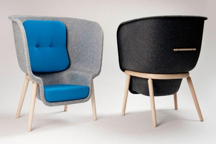 Benjamin Hubert for De Vorm Pod Chair