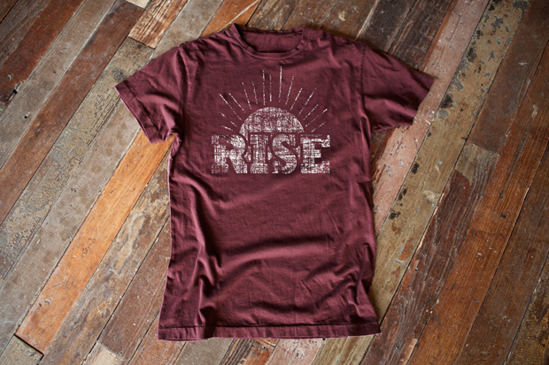 "Billy Reid ""RISE"" Charity Tee"