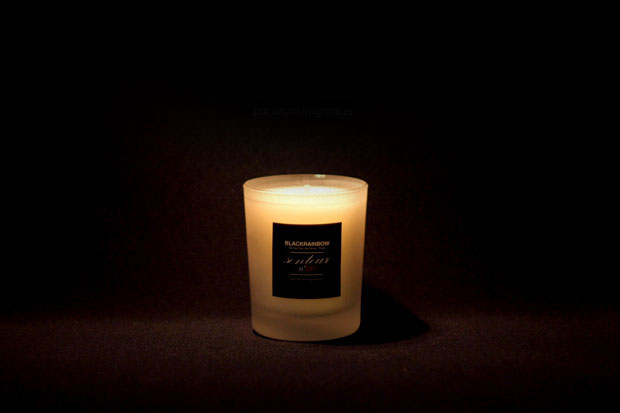 Black Rainbow Shop x drom fragrances Senteur n°00 Candle