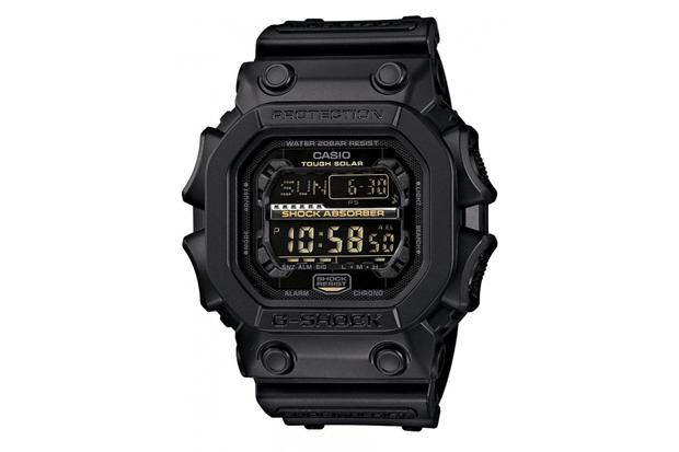 casio g shock gx 56gb black gold