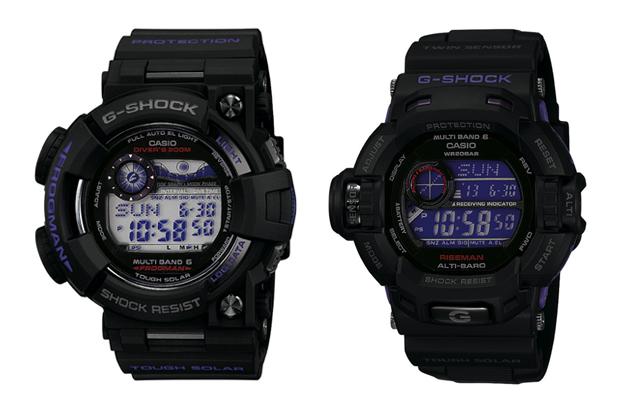 "Casio G-Shock ""Men in Dark Purple"" Pack"
