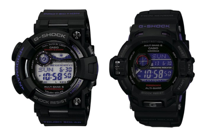 "Casio G-Shock ""Men in Dark Purple"" Pack"
