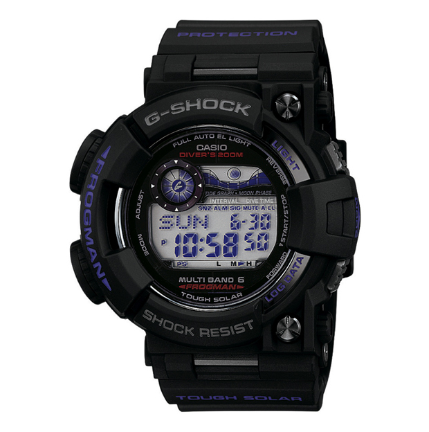 casio g shock men in dark purple pack