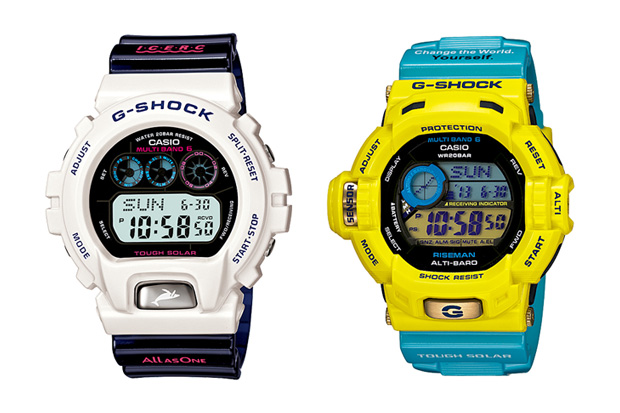 """Casio G-Shock """"Love The Sea and The Earth"""" Collection"""