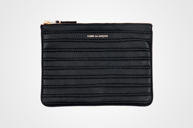 COMME des GARCONS Embossed Stitch Wallet