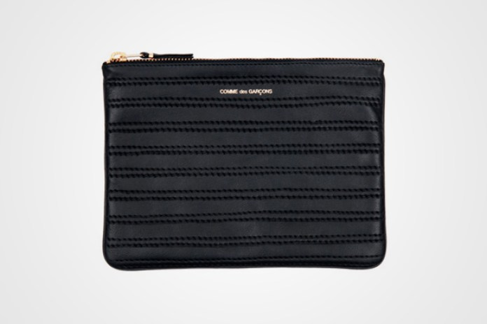 COMME des GARCONS Embossed Stitch Wallet