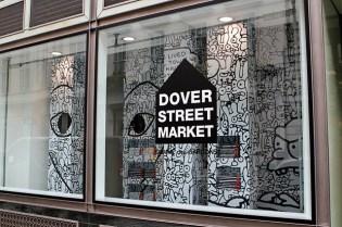 "COMME des GARCONS x Matt Groening ""Binky & Sheba PLAY"" Installation @ Dover Street Market"