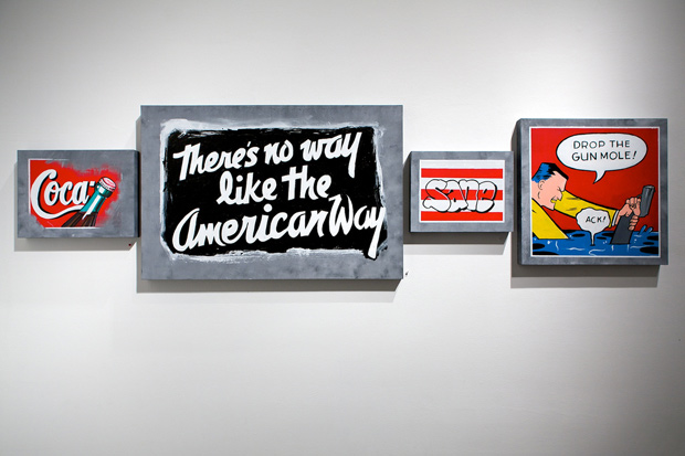 "CRASH, FREEDOM and RISK ""Blurring the Lines"" Exhibition @ Corey Helford Gallery Recap"