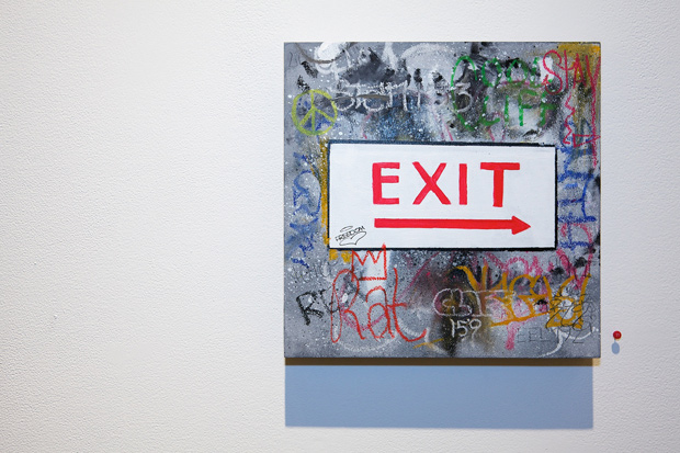 crash freedom and risk blurring the lines exhibition corey helford gallery recap
