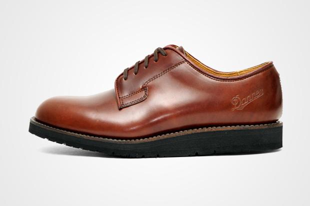 danner cordovan postman shoes