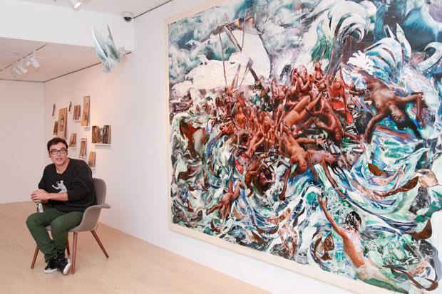 david lachapelle the raft exhibition de sarthe fine art