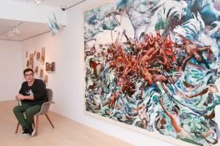 """David LaChapelle """"The Raft"""" Exhibition @ de Sarthe Fine Art"""