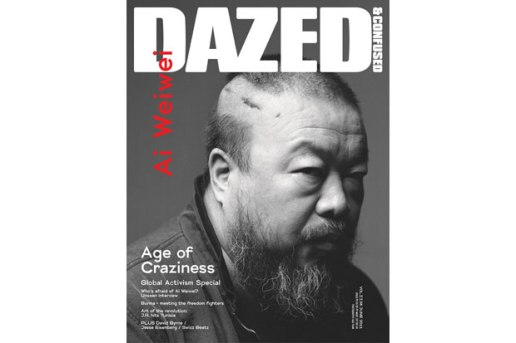 Dazed & Confused 2011 June Issue featuring Ai Weiwei