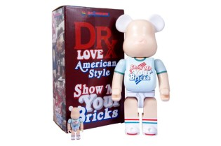 "Dr. Romanelli x Medicom Toy Bearbrick ""Spirit of '76"""