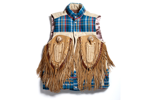 "Dr. Romanelli ""Summers on the Fringe"" Vest"