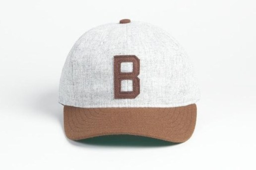 Ebbets Joe Louis Brown Bombers 1940 Baseball Cap