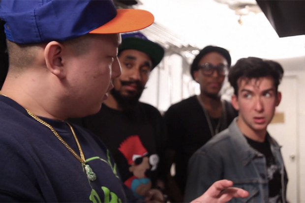 Food Gold Video Party: Loco Moco with Eddie Huang and Ninjasonik