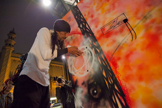 futura live painting carbon