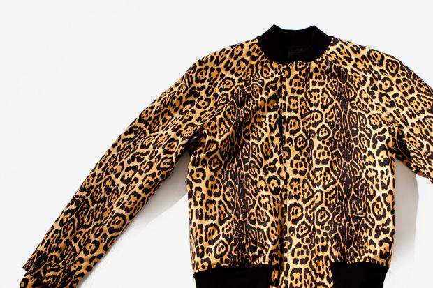 Givenchy Leopard Varsity Jacket