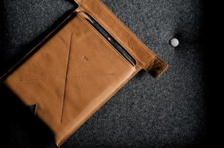 Hard Graft Leather iPad & MacBook Sleeves