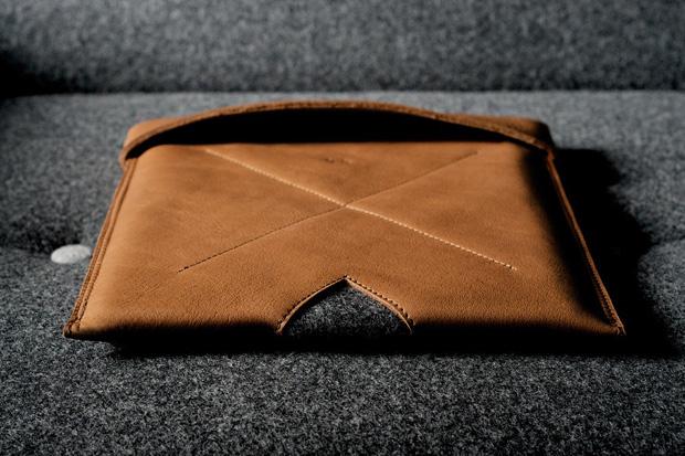 hard graft leather ipad macbook sleeves