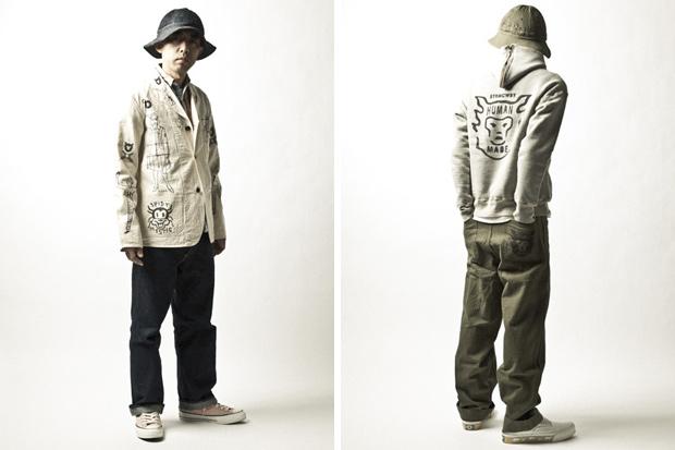 HUMAN MADE 2011 Spring/Summer Lookbook feat. NIGO