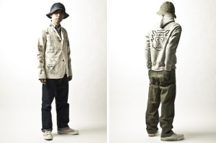 HUMAN MADE 2011 Spring/Summer Lookbook feat. NIGO