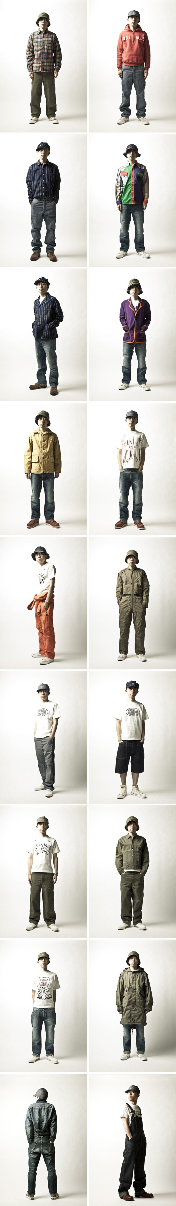 human made 2011 springsummer lookbook feat nigo