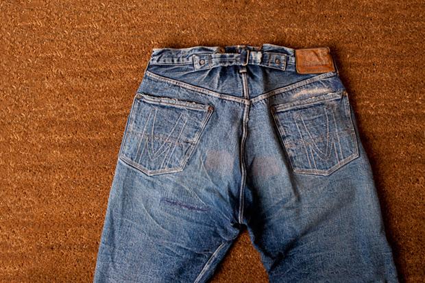 HUMAN MADE Denim Pants #003 Damage