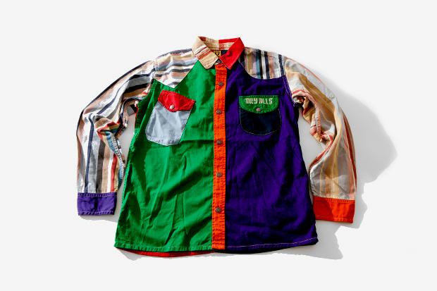 human made hm2 sh001 pierrot shirt