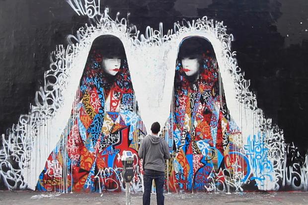 HUSH Mural @ New Image Art Gallery